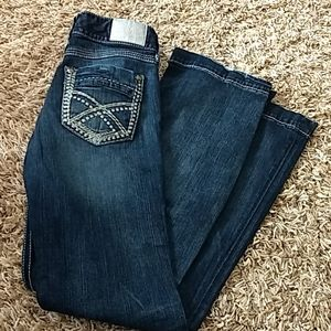 Maurice's Platinum Jeans Size 9/10 Long